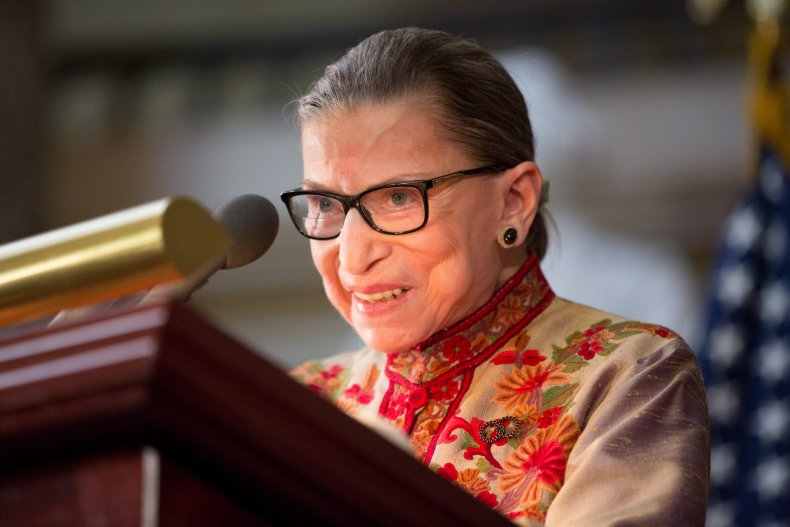Ruth Bader Ginsburg Twitter tributes reactions