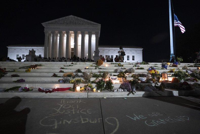 Justice Ruth Bader Ginsburg memorial