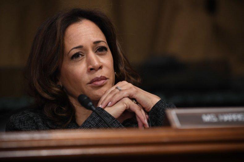 Senator Kamala Harris at the Kavanaugh Hearings