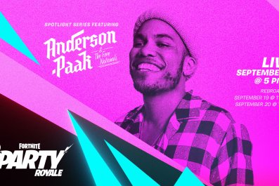 fortnite anderson paak party royale start time