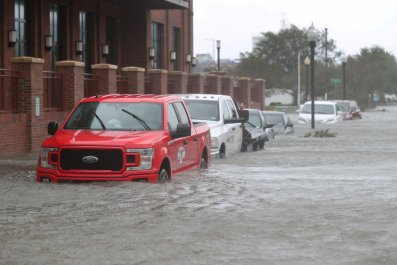 Flooding from Hurricane Sally in Florida
