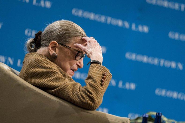 Ruth Bader Ginsburg election trump biden