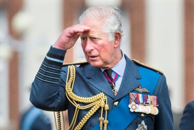 Prince Charles Graduation at RAFC Cranwell