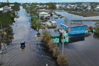 Hurricane Sally hits Gulf Coast