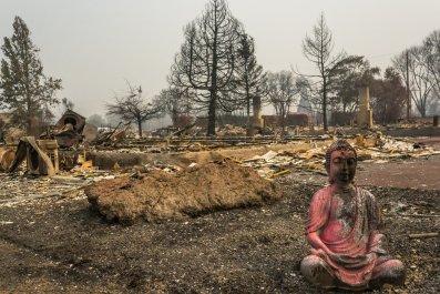 Getty Images Oregon Wildfires Almeda
