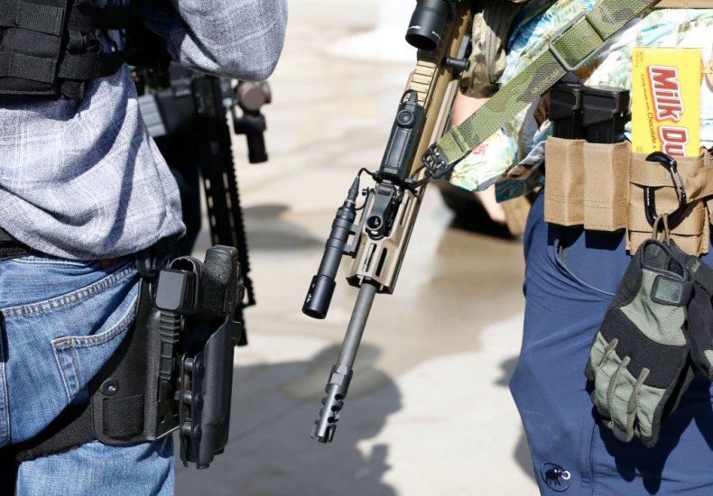 gun rights protest