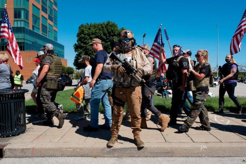 Pro police march Louisville, Kentucky