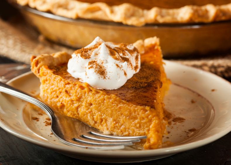 Illinois: Pumpkin pie