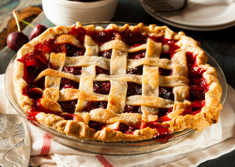 Iowa: Cherry pie