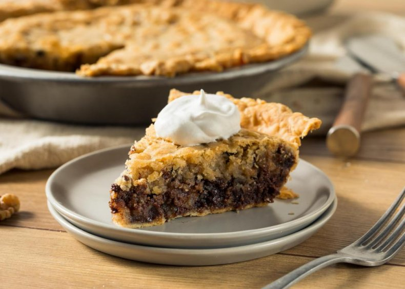 Kentucky: Chocolate bourbon walnut pie