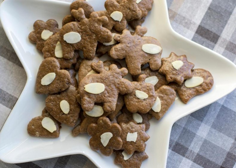 North Carolina: Moravian cookies