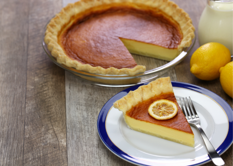 South Carolina: Buttermilk pie