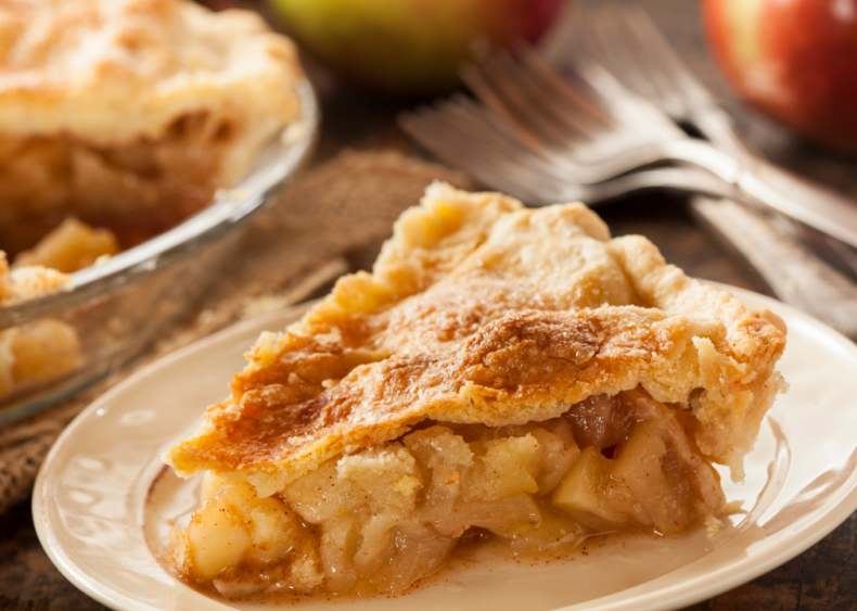Vermont: Apple pie