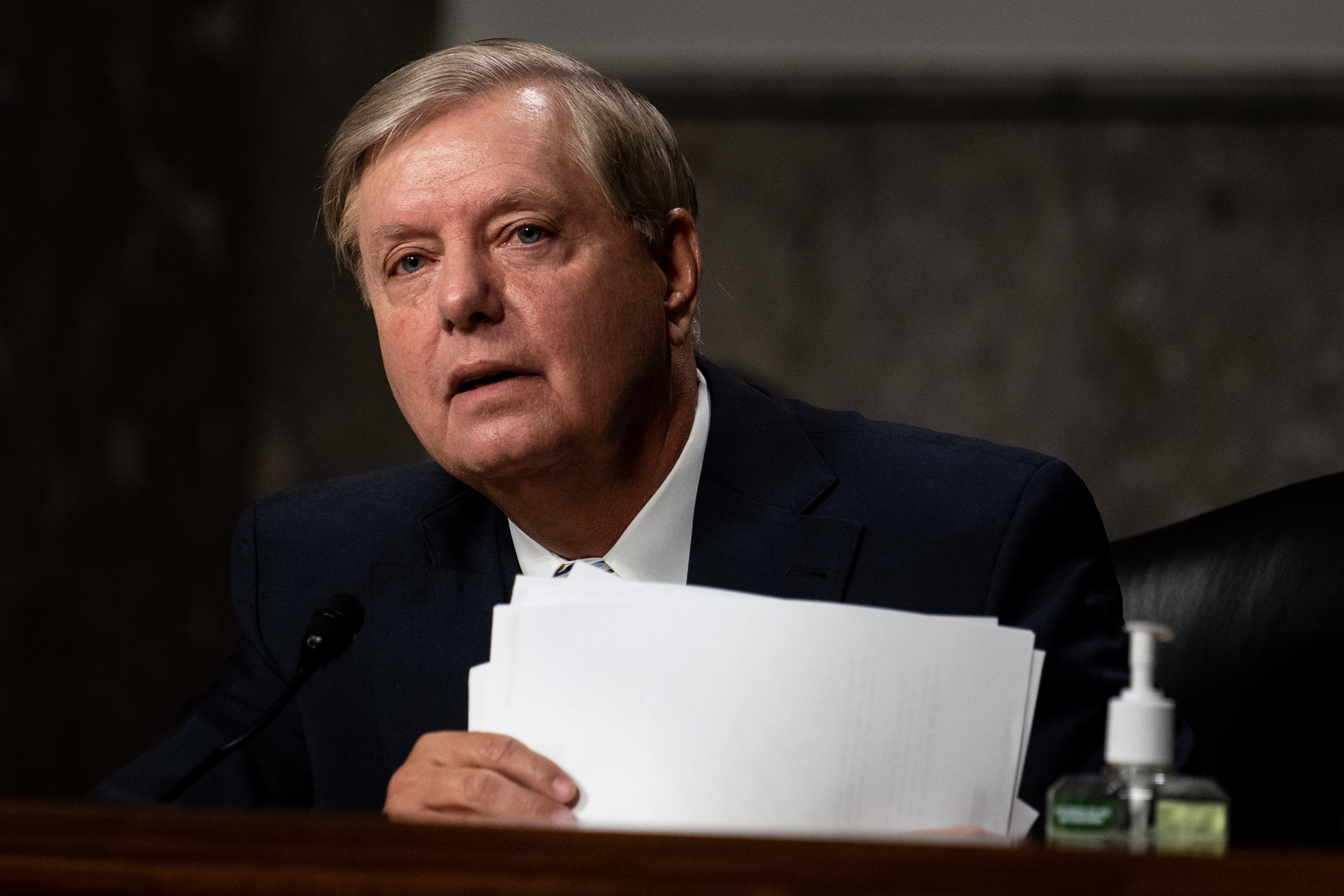 "Lindsey Graham says Senate should ""proceed expeditiously"" in filling RBG's Supreme Court seat"