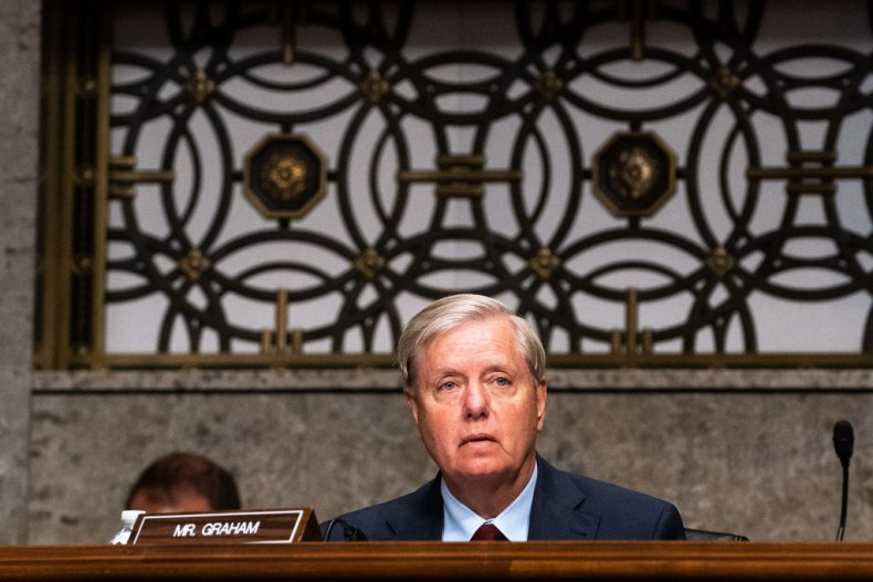 Lindsey Graham at the Senate Appropriations subcommittee