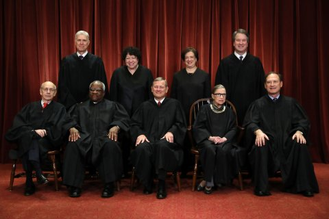 Supreme Court formal photo