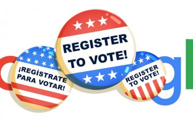 National Voter Registration Day Google Doodle