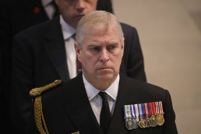 Prince Andrew at Manchester Cathedral