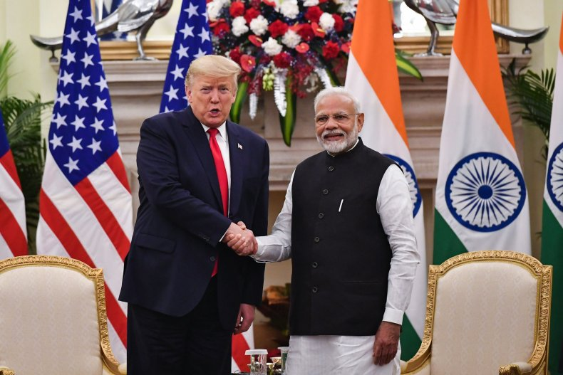 Narendra Modi and Trump