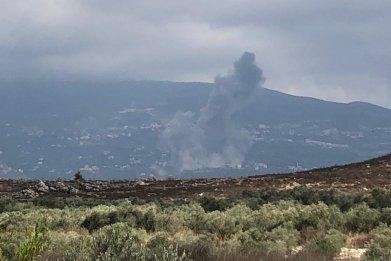 south, lebanon, explosion, ain, qana
