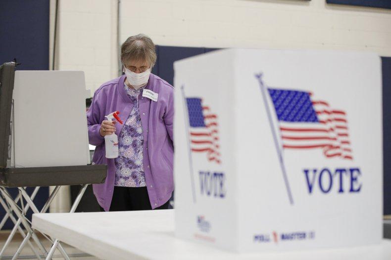 Getty Images Voting coronavirus