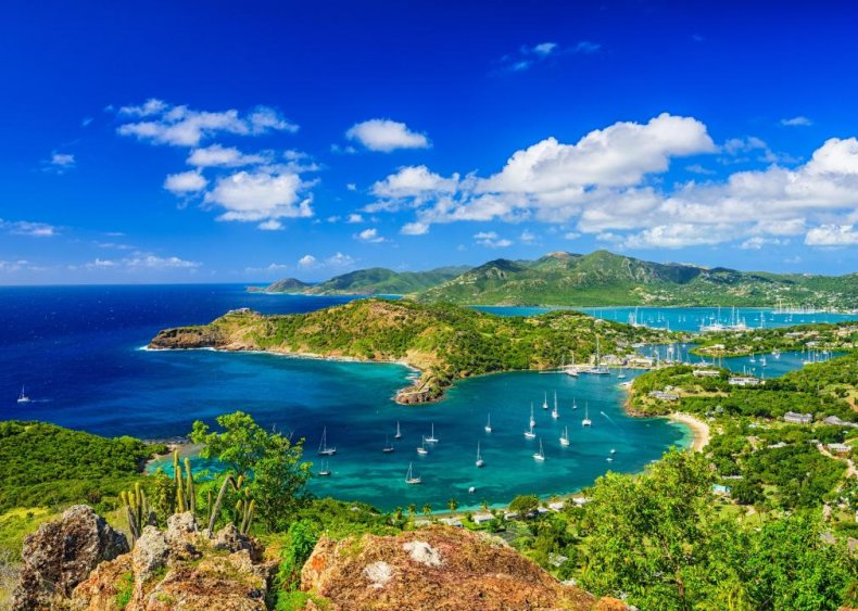 #3. Antigua and Barbuda