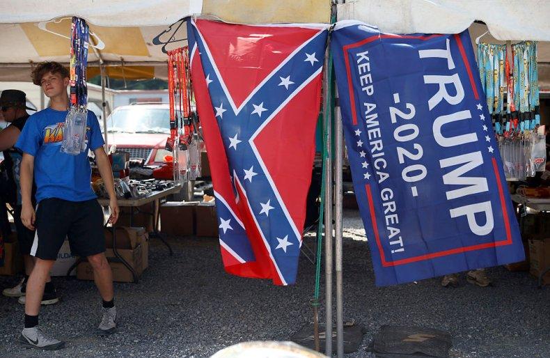 confederate flag nascar