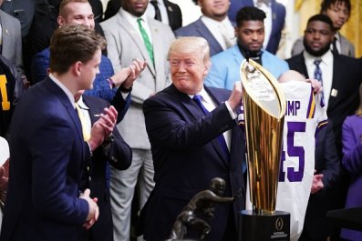 LSU and Donald Trump