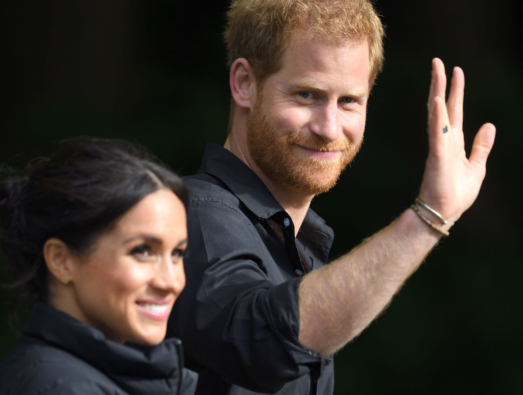 Prince Harry Tackles U.S. Election For First Time Alongside Meghan Markle