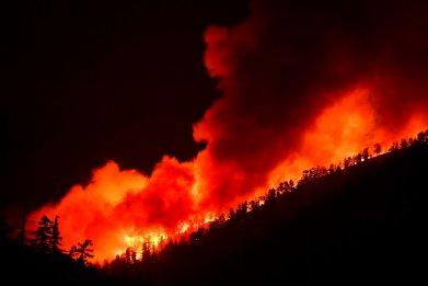 Bobcat Fire Los Angeles California September 2020