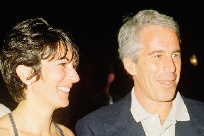 Ghislaine Maxwell and Jeffrey Epstein, Mar-a-Lago
