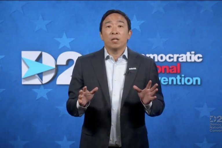 Andrew Yang DNC