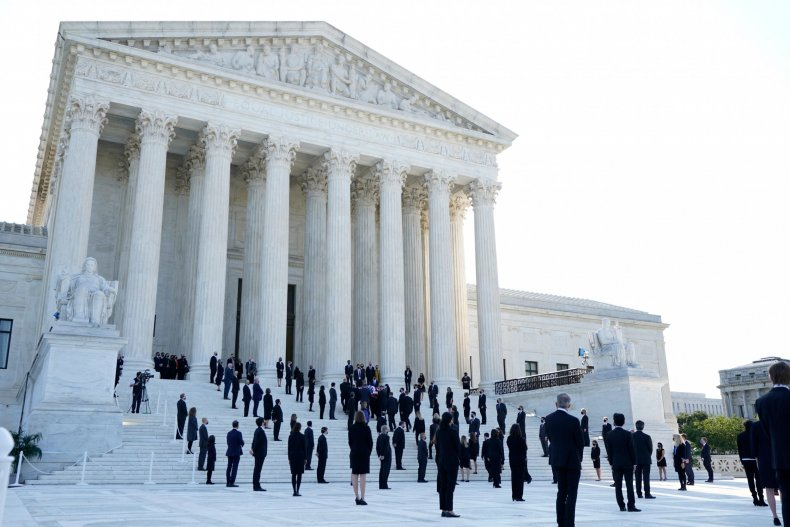 RBG Memorial Supreme Court