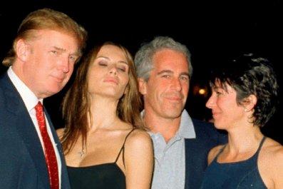 Jeffrey Epstein With Donald and Melania Trump