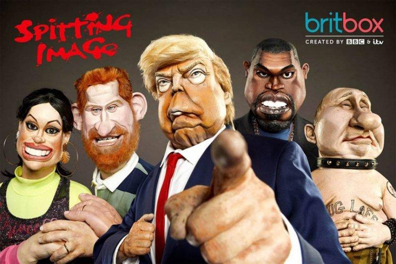 Spitting Image BritBox ITV