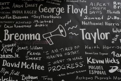 Breonna Taylor writing