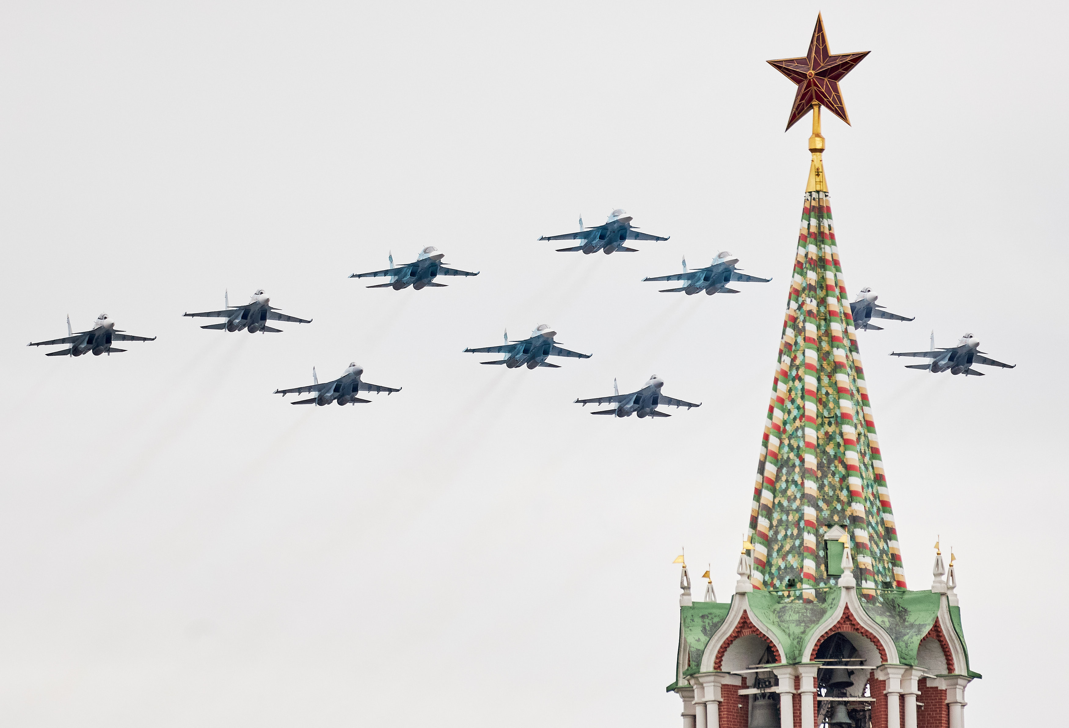 Russian fighter jet accidentally shot down by friendly fire in military exercise