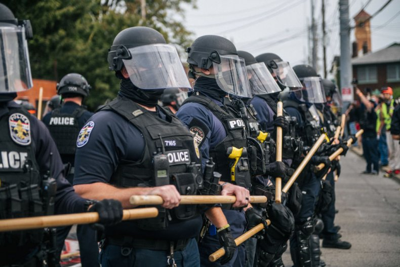 Louisville protest police