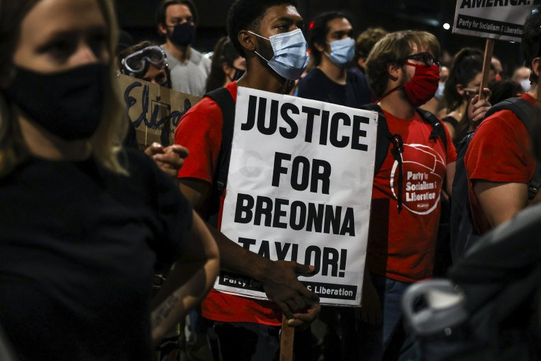 denver car driver protest breonna taylor
