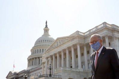 Chuck Schumer at U.S. Capitol