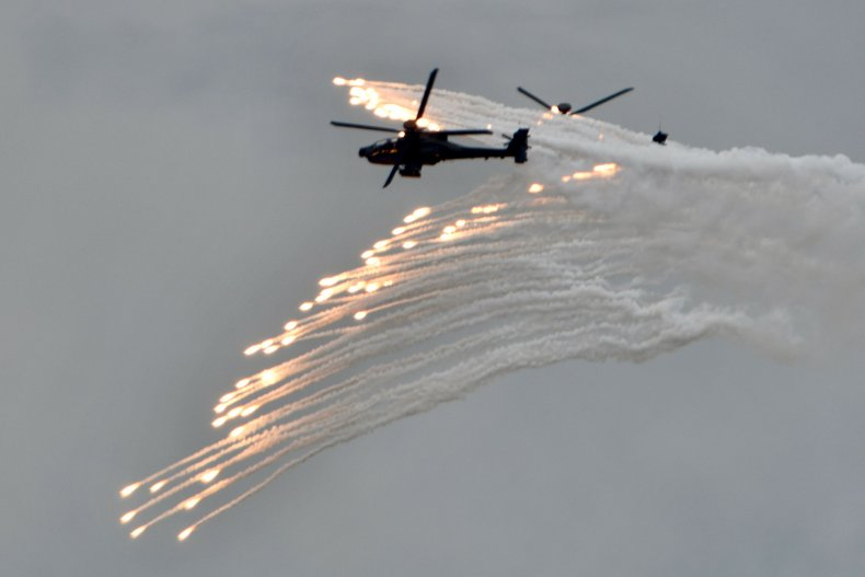 Taiwan military drills