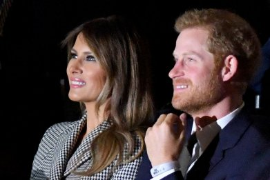 Melania Trump and Prince Harry, Invictus Games