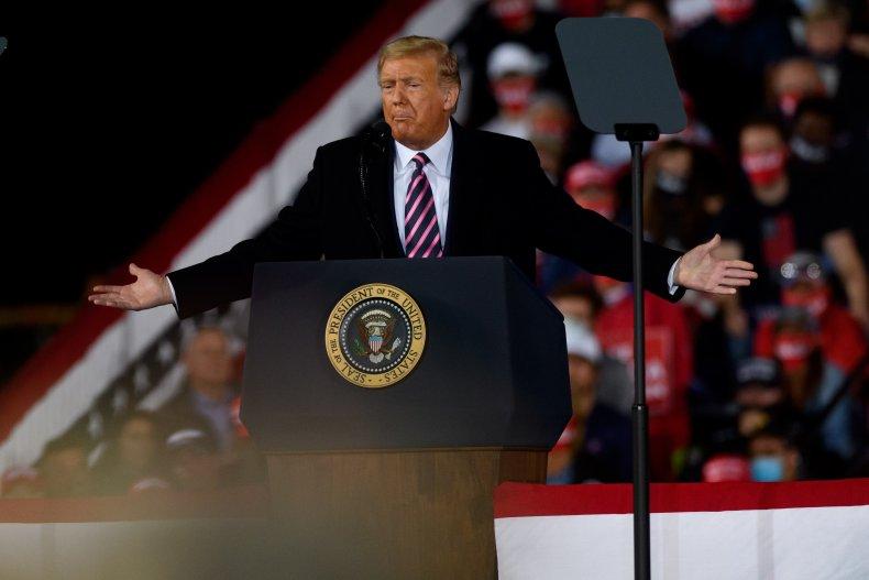 donald trump pennsylvania rally september 2020