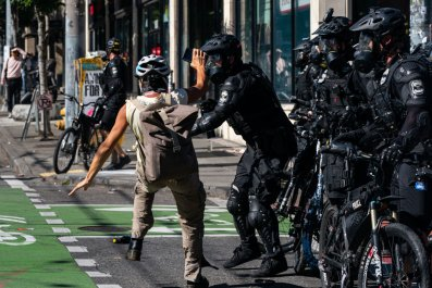 Seattle Police protest