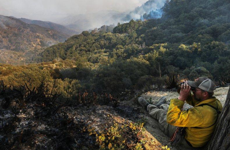 Bobcat fire California September 2020