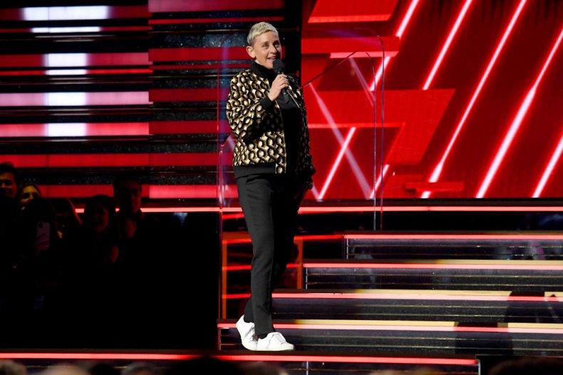Ellen DeGeneres Grammy 2020