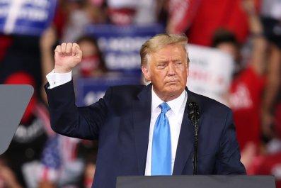 President Donald Trump at Florida Rally