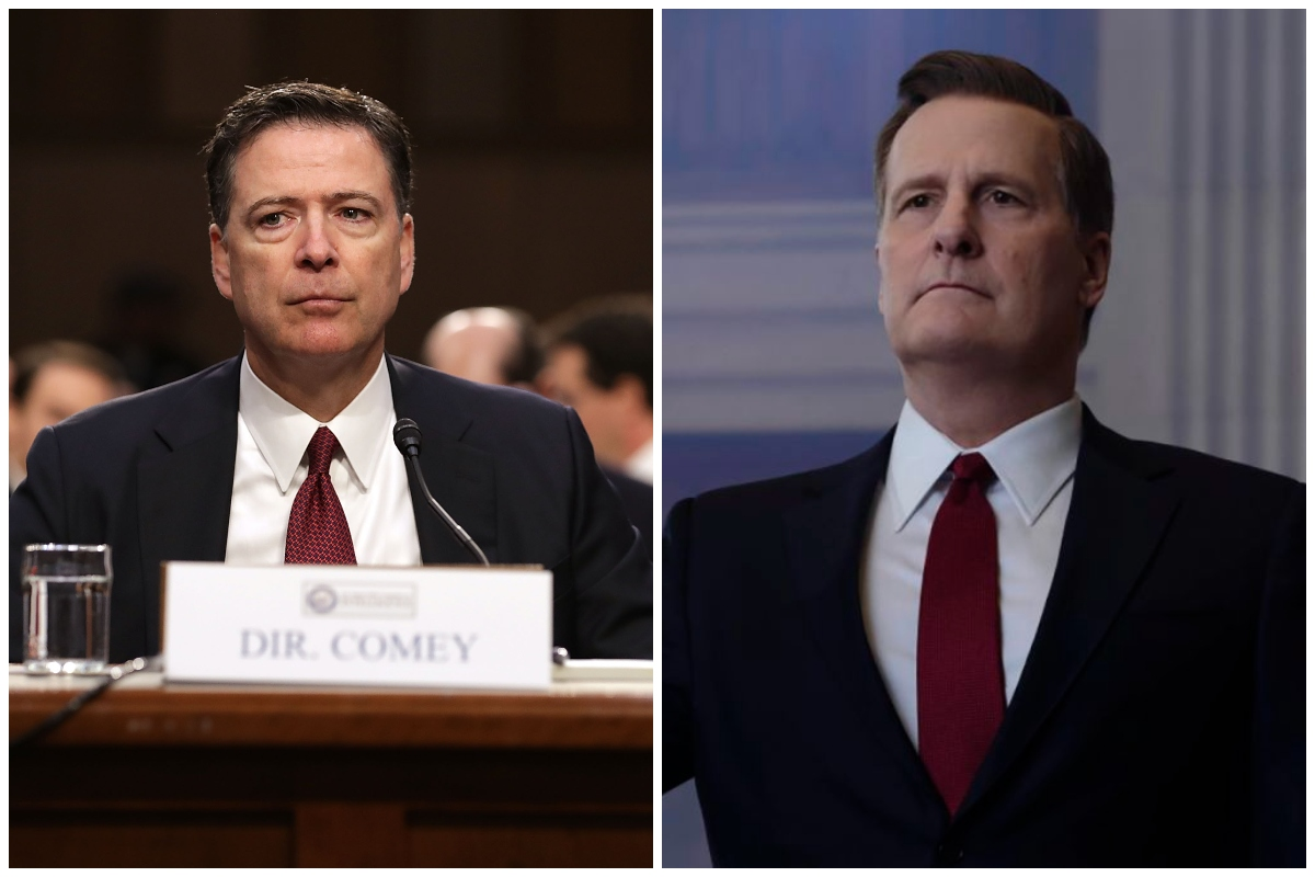"""""""The Comey Rule"""" cast and the real people they're playing"""