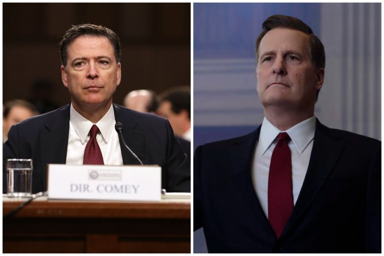 james comey jeff daniels