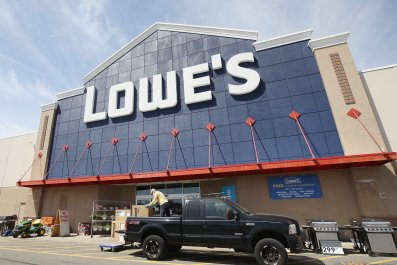 Lowes shop New York May 2020